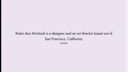 Robin Ann Mcintosh